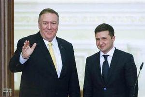 Ukraine muốn tổ chức bầu cử ở Crimea: Zelensky phản pháo Pompeo