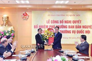 Trao quyết định bổ nhiệm nhân sự Ban Dân nguyện