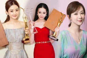 Fan Triệu Lệ Dĩnh và Dương Tử cực khổ tranh giải Thị Hậu Kim Ưng cho idol nhưng vẫn đấu không lại Địch Lệ Nhiệt Ba