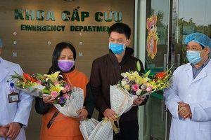 Vĩnh Phúc thêm hai bệnh nhân nhiễm Covid-19 được xuất viện