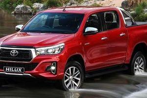 Toyota Hilux bị lỗi ở ống nhiên liệu, phải triệu hồi để thay thế