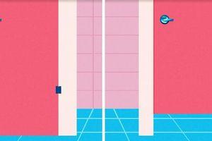 Tại sao cửa buồng vệ sinh công cộng không bao giờ chạm sàn?