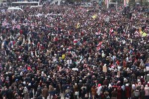 Hàng chục ngàn người mừng chiến thắng của quân đội Syria