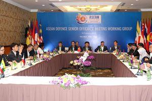 Hội nghị Nhóm làm việc quan chức quốc phòng ASEAN