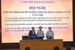 Quận Long Biên: Công khai đồ án điều chỉnh cục bộ quy hoạch chi tiết tỷ lệ 1/500 đối với 3 dự án