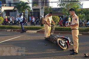 Bình Phước: Chạy xe tốc độ cao đâm vào dải phân cách, 2 người tử vong