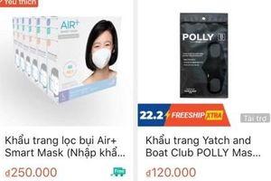 Xử lý 30.000 gian hàng online tăng giá sản phẩm chống dịch COVID-19