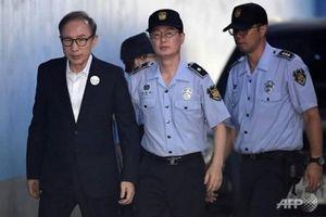 Cựu Tổng thống Hàn Quốc Lee Myung-bak lĩnh án 17 năm tù giam