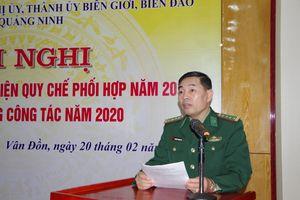 Thực hiện tốt Quy chế phối hợp giữa BĐBP tỉnh với Huyện ủy, Thành ủy các huyện biên giới