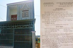 Xây nhà không phép, trung úy biên phòng Kiên Giang bị buộc tháo dỡ