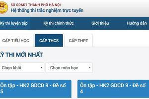 Hà Nội triển khai hệ thống ôn tập trực tuyến Hanoi Study