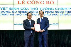 Bổ nhiệm Chủ tịch UBND tỉnh Lạng Sơn làm Thứ trưởng Bộ GD&ĐT