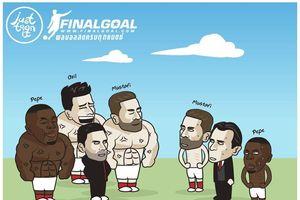 Ảnh chế: Arsenal – đội bóng duy nhất còn bất bại tại châu Âu lúc này