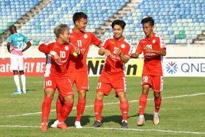 Lần đầu ghi bàn cho TP.HCM, Công Phượng vào danh sách Cầu thủ hay nhất lượt trận mở màn AFC Cup