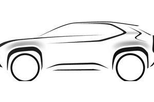 Toyota hé lộ hình ảnh SUV cỡ nhỏ bí ẩn