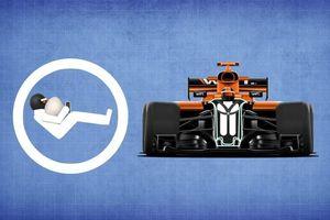 Vì sao xe đua F1 không trang bị túi khí