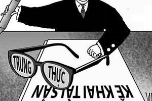 Dự thảo mới về kiểm soát tài sản, thu nhập người có chức vụ quyền hạn: Không trung thực có thể bị mất chức!