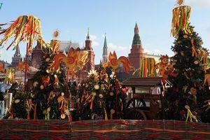 Nước Nga rộn ràng kỳ lễ hội tiễn mùa đông-đón mùa xuân