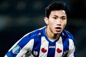 Heerenveen 0-0 ADO Den Haag: Văn Hậu chờ cơ hội vào sân