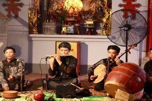 Độc đáo 'đặc sản' văn hóa phi vật thể hát văn Nam Định
