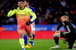 Man City thắng Leicester, bảo vệ vị trí thứ 2 Ngoại hạng Anh