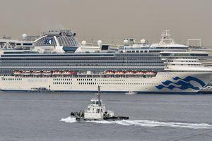Nhật Bản phát hiện một khách rời tàu Diamond Princess nhiễm COVID-19