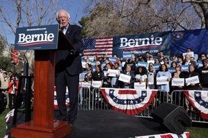 Bầu cử sơ bộ Mỹ 2020: TNS Bernie Sanders giành thắng lợi tại Nevada