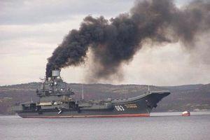 Thêm tín hiệu xấu đối với triển vọng 'tái ngũ' của tàu sân bay Đô đốc Kuznetsov