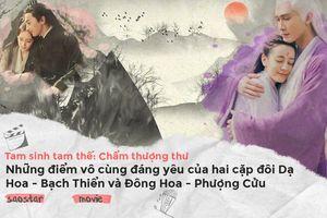 Những điểm tương đồng và trái ngược vô cùng đáng yêu của hai cặp đôi Dạ Hoa - Bạch Thiển và Đông Hoa - Phượng Cửu