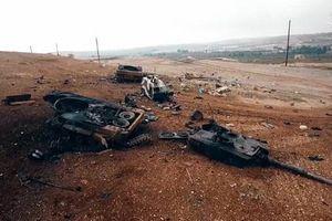 Tên lửa Nga 'thổi bay' tháp pháo xe tăng Thổ Nhĩ Kỳ