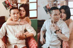 Sau thời gian công khai 'dằn mặt' tình cũ, MC Hoàng Linh gây 'sốt' với bộ ảnh 'ngọt lịm tim' bên chồng