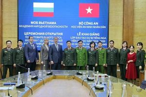 Khai giảng lớp dự bị tiếng Nga cho học viên an ninh