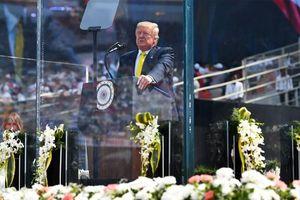 Tổng thống Mỹ Donald Trump phát biểu ca ngợi quan hệ với Ấn Độ