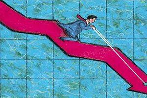 Phiên sáng 24/2: Nhà đầu tư bất an, thị trường lao dốc