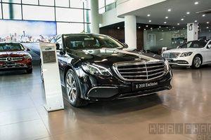 Chi tiết Mercedes-Benz E200 Exclusive hơn 2 tỷ tại Hà Nội