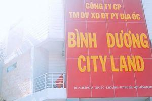 Bắt tạm giam 2 lãnh đạo Công ty Bình Dương City Land