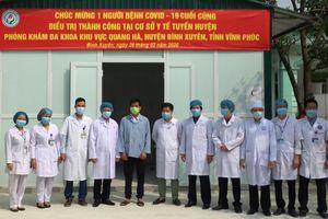 Bệnh nhân cuối cùng nhiễm Covid-19 xuất viện