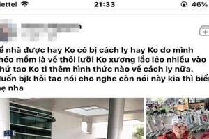 Cách ly cô gái khai báo y tế không trung thực ở sân bay