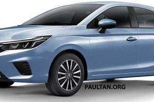 Lộ ảnh concept biến thể hatchback của Honda City 2021