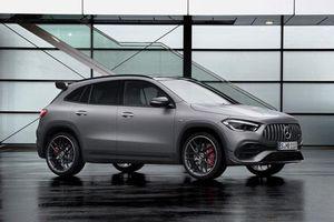 Mercedes-AMG GLA 45 2021 ra mắt: Công suất 415 mã lực, giá chưa công bố