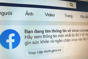 Facebook gỡ toàn bộ quảng cáo nói có thể chữa virus corona