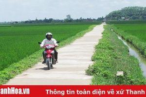 Huyện Hà Trung đầu tư xây dựng cơ sở hạ tầng nông nghiệp