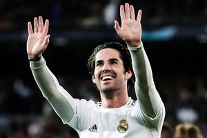 Isco và bàn mở tỷ số cho Real Madrid trước Man City