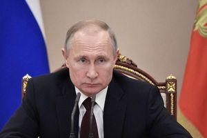 Tổng thống Nga Putin ý kiến về sửa đổi hiến pháp