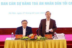 Tòa án đã thực hiện nghiêm túc các chủ trương của Đảng, chất lượng xét xử được nâng lên
