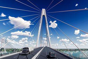 Bắt đầu làm cầu Mỹ Thuận 2