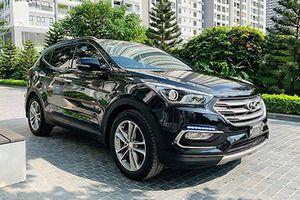 Hyundai SantaFe 2016 'dùng chán' bán vẫn 980 triệu ở Hà Nội