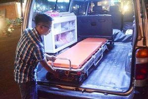 Chàng trai 23 tuổi và hàng trăm chuyến xe cấp cứu miễn phí