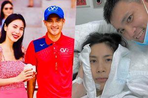 Thủy Tiên lẳng lặng nhập viện, Công Vinh than thở: 'Lấy phải vợ tính đàn ông đau đầu lắm'