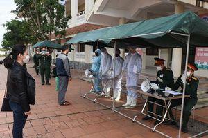 Nghệ An: Diễn tập các phương án tiếp nhận công dân trở về từ vùng dịch Covid-19